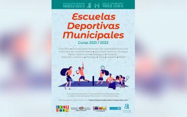 Deportes abre el plazo de inscripción en las Escuelas Deportivas Municipales 2021/2022