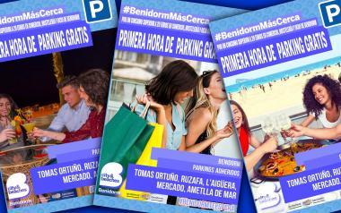 Benidorm amplía hasta final de año la hora gratuita en seis 'parkings' por consumir en el comercio, ocio y hostelería de la ciudad