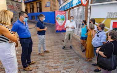 Benidorm crea una nueva vía de plataforma única en la calle Condestable Zaragoza