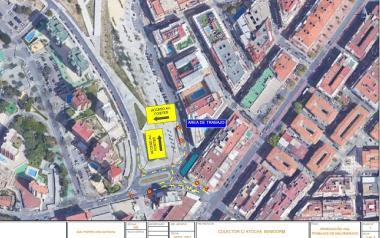 Cortes puntuales hasta el viernes en la calle Atocha y aledañas por trabajos de mejora de la calzada