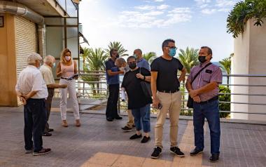 Benidorm suma a su oferta cultural un nuevo Espai d'Art Urba, 'El Campo'
