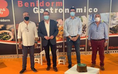 Benidorm promociona la seua restauració i el Concurs de Tapes i Pinxos en la fira 'Alacant Gastronòmica'