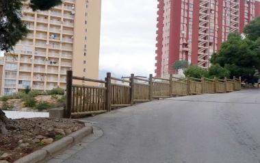 Benidorm inicia la mejora de la accesibilidad en la calle Sierra Dorada