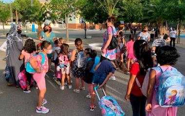 Más de 1.000 alumnos de 2º ciclo de Infantil se benefician de la ayuda municipal para la compra de material escolar