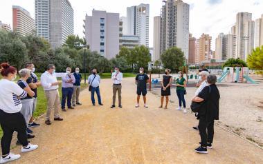 Benidorm renovará antes de fin de año el área infantil del Rincón junto a los campos de fútbol Antonio López y creará una zona para mascotas