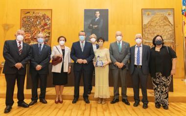Benidorm ha conmemorado esta mañana el Dia de la Comunitat Valenciana