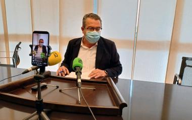 Toni Pérez, alcalde de Benidorm