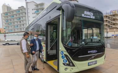 Benidorm prueba la idoneidad de un bus eléctrico en su red de transporte urbano