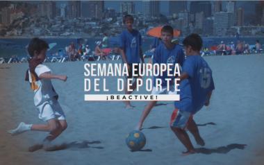 Benidorm, galardonada con el premio CSD-BeActive en la Semana Europea del Deporte