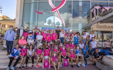 La Bahía de Benidorm, escenario del 1er Trofeo Anémona de Banco Fijo contra el cáncer de mama