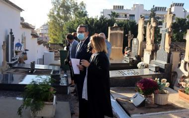 Los cementerios de Benidorm, a punto para la festividad de 'Todos los Santos'