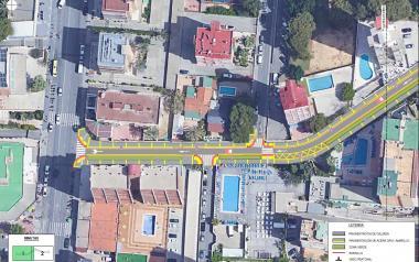 Benidorm licita la renovació de l'avinguda de Roma, que guanya en accessibilitat i espai per als vianants
