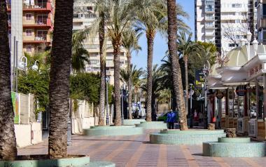 Benidorm licita la renovación de la calle Mallorca, que incluye las infraestructuras hídricas y la escena urbana