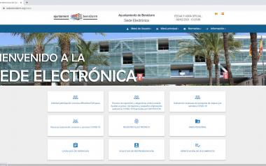 Benidorm increased e-Administration procedures by 15% in 2020...