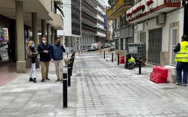 Benidorm completa la urbanització del carrer La Garita i la millora d'Apol·lo XI