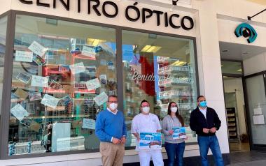 Centro Óptico Visionmar, Contalles i Restaurant El Niño, premiats del Concurs #BenidormTeEspera...