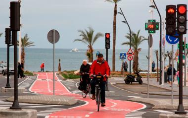 Benidorm plantea alcanzar los 134 kilómetros de vías ciclistas a final de año