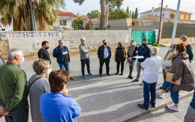 Es presenta als veïns el projecte d'urbanització de Finca Barrina