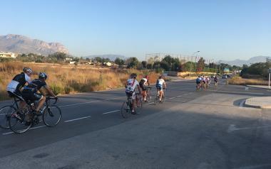 Benidorm instala alumbrado en la avenida Bernat de Sarrià para mejorar la seguridad vial