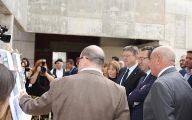Benidorm avanza en el primer trámite para desbloquear las obras del centro cultural