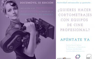 Igualdad lanza la tercera edición de 'Documóvil', taller de cine y género dirigido a estudiantes de ESO y Bachiller