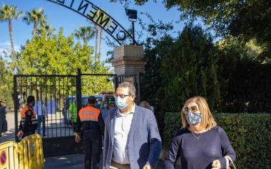 Los cementerios de Benidorm, preparados para la festividad de Todos los Santos