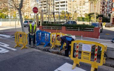 Benidorm mantendrá el calendario de obras en Semana Santa: la actividad no cesará