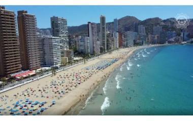 Las playas de Benidorm suman ya dos millones de usuarios