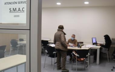Benidorm cede a Labora un espacio en el Ayuntamiento para reanudar la prestación del SMAC