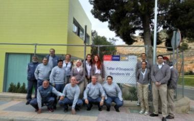 Participantes en el Taller de Empleo ...
