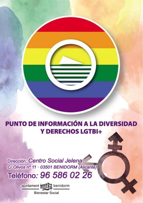 Cartel punto información LGTBI