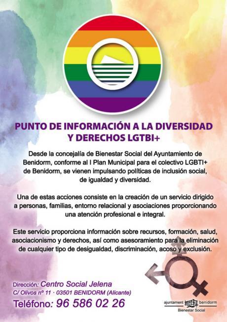 Cuartilla punto información LGTBI