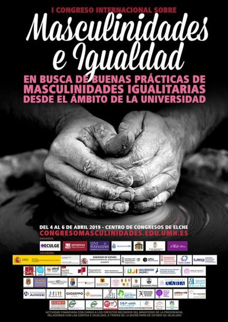 Cartel I Congreso Masculinidades e Igualdad