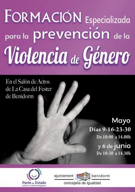 Cartel Formación Prevención Violencia de Género