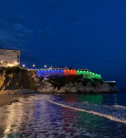 Benidorm will light up the Castle tonight in blue, red and green, commemorati…