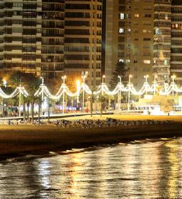 Benidorm joins 'Earth Hour' on Saturday by turning off the promenades and La…