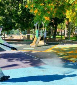 Benidorm reabre los parques infantiles