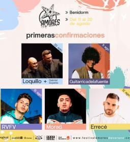 Benidorm launches a new cycle of concerts for August, 'Amores de Verano'