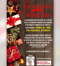 Vuelve por Navidad a Benidorm la campaña solidaria de la Asociación Socio Cul...