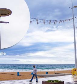 Benidorm implantará en el Paseo de Levante un nuevo prototipo de farola y ban...