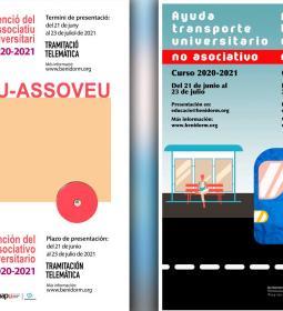 Educación abre el plazo para pedir las ayudas municipales al transporte unive...