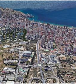 Benidorm exposes to the public the new version of 'Ensanche de Levante' Parti…