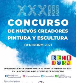 Juventud abre la inscripción para la 33ª edición del Concurso Nuevos Creadore...