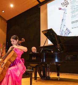 With a concert of cello and piano, Benidorm International Music Course begins