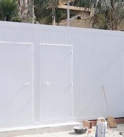 Benidorm habilita este sábado un nuevo módulo de baños para dar servicio a la...
