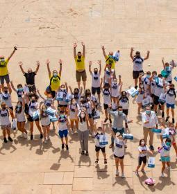 Young people and children, councilors for a day in Benidorm