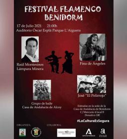 El auditorio Óscar Esplá acoge el sábado un festival de flamenco organizado p...