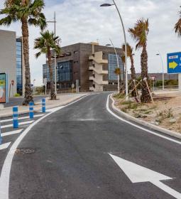 Benidorm abre el nuevo carril de incorporación que conecta el Salt de l'Aigua...