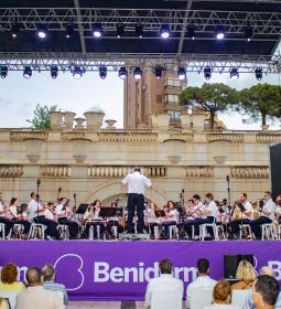 Audición de la Banda Sinfónica de la Unió Musical de Benidorm en los 'Concert...