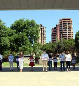 Benidorm condena el último crimen machista en Roquetas de Mar